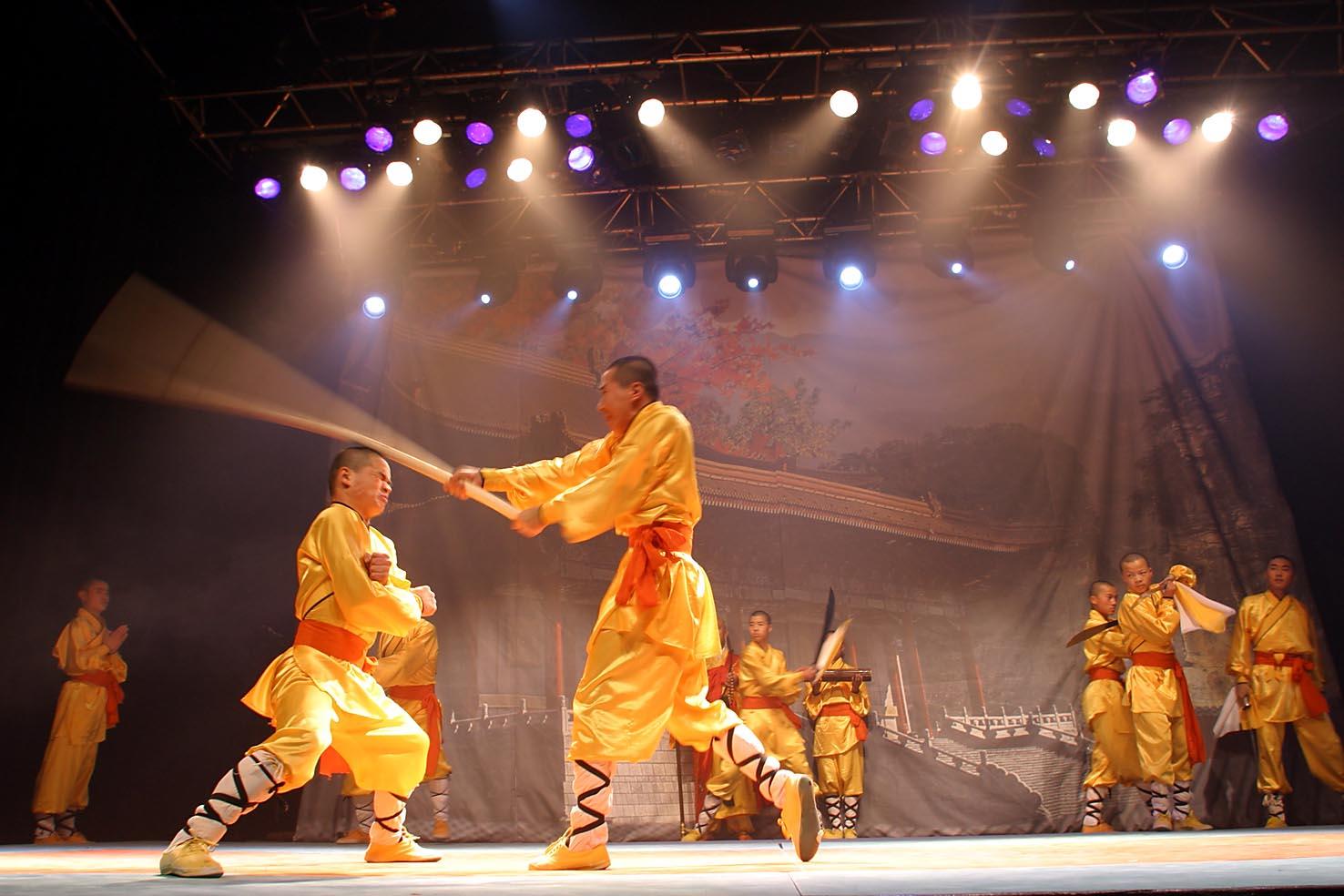 L'art ancestral des ma?tres de Shaolin